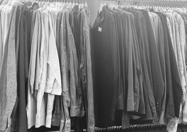 More want vintageで古着を要チェック